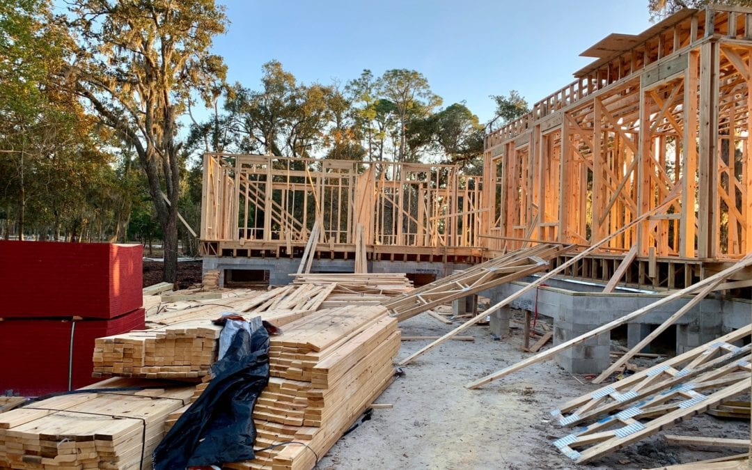 The 2019 Southern Living Idea House – Progress January 2019
